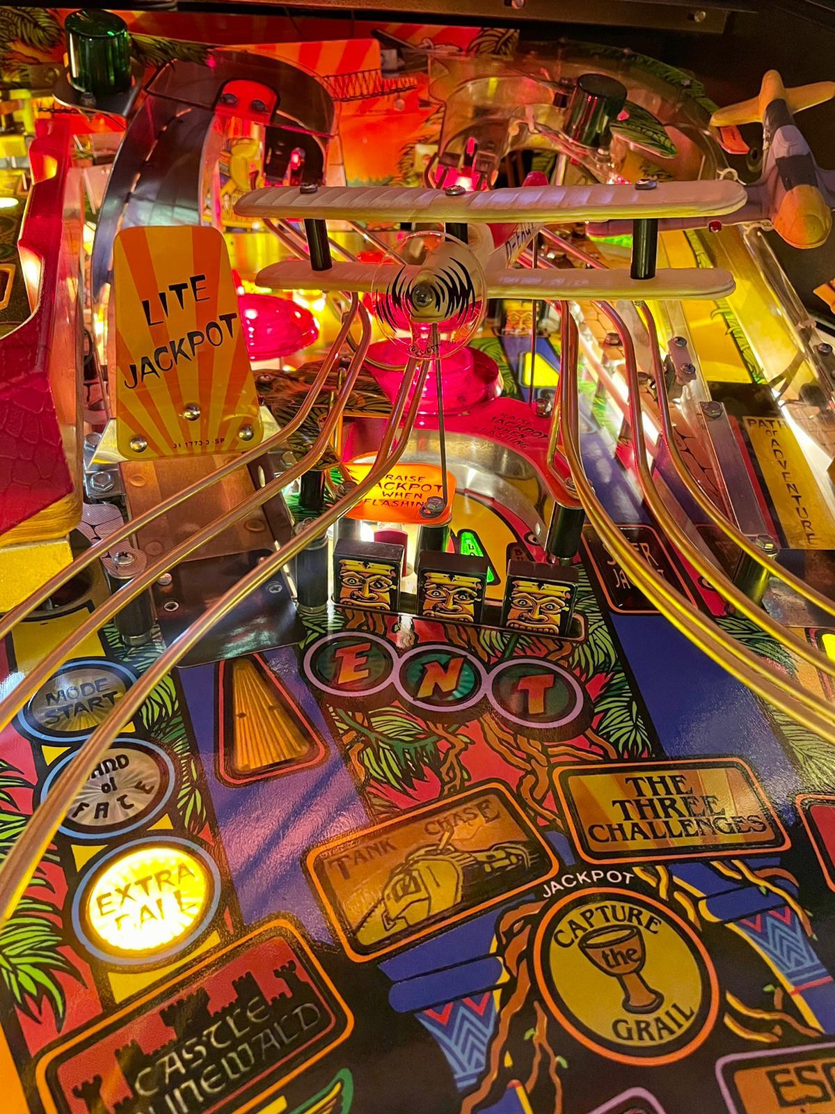 Zoom playfield Indiana Jones