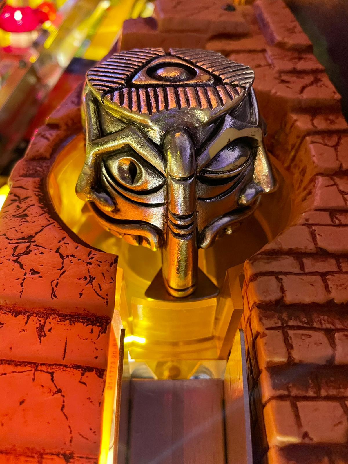 L'idole des Incas, flipper Indiana Jones