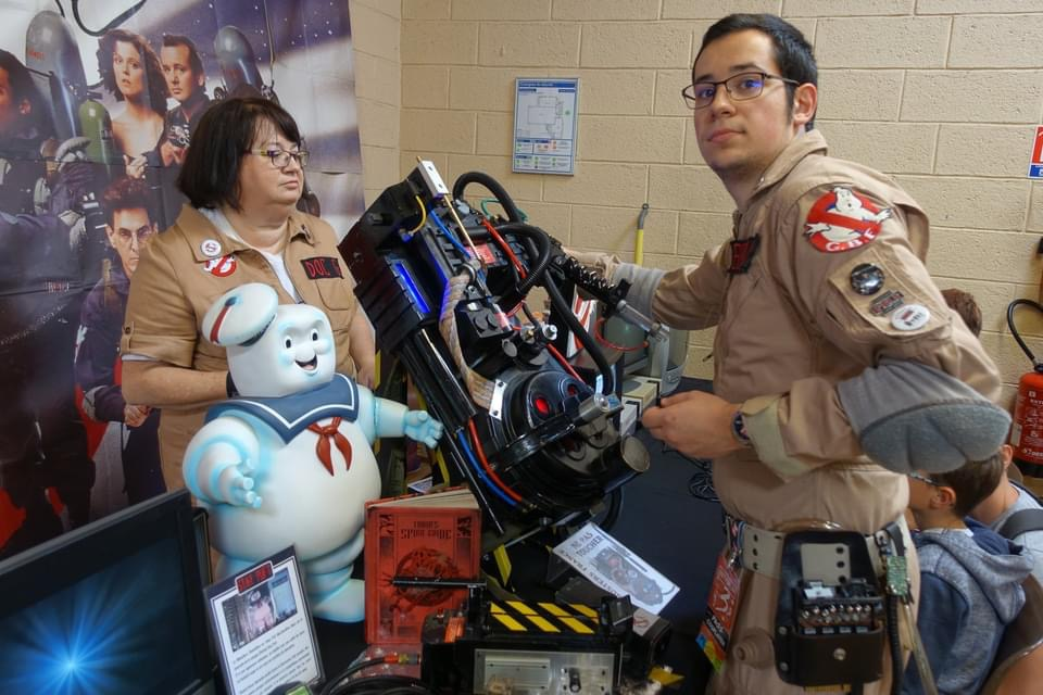 Cosplay Ghostbuster - Retroplay