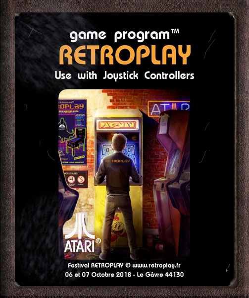 Affiche Festival Retroplay 2018 - Version Atari