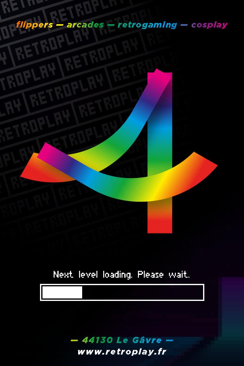 Affiche teaser Retroplay 2022