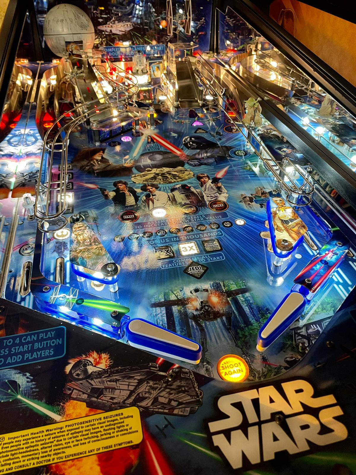 Star Wars Home Edition - playfield