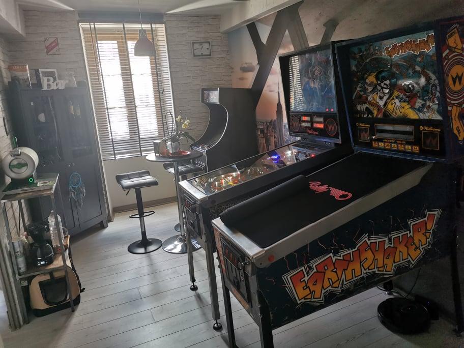 David Bonin chx - gameroom avec mange-debout